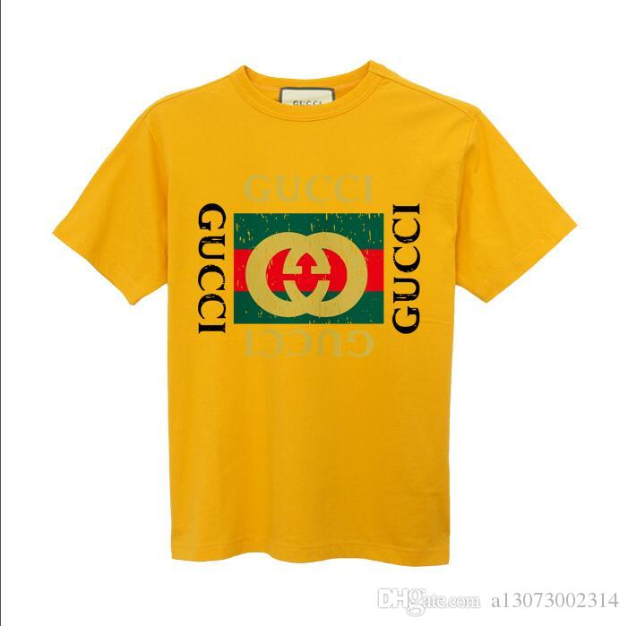 Moda marka Tshirt yaz rahat gömlek kısa kollu T-shirt erkek marka s-6xl rahat T-shirt