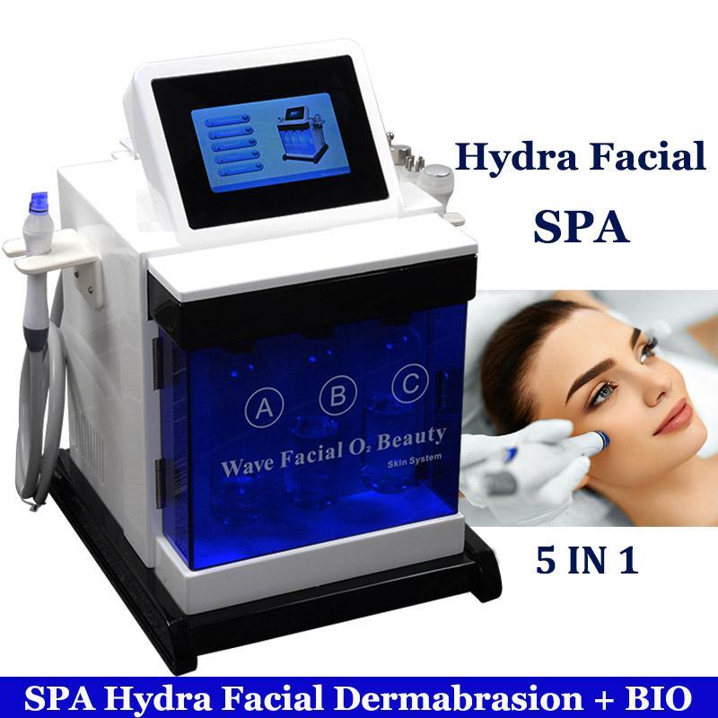 Oxigênio da água Hydra máquina Facial Hidro Microdermabrasion Cuidados com a pele Rejuvenescimento Spa Hydrafacial rugas remoção Tratamento Hydra Máquina