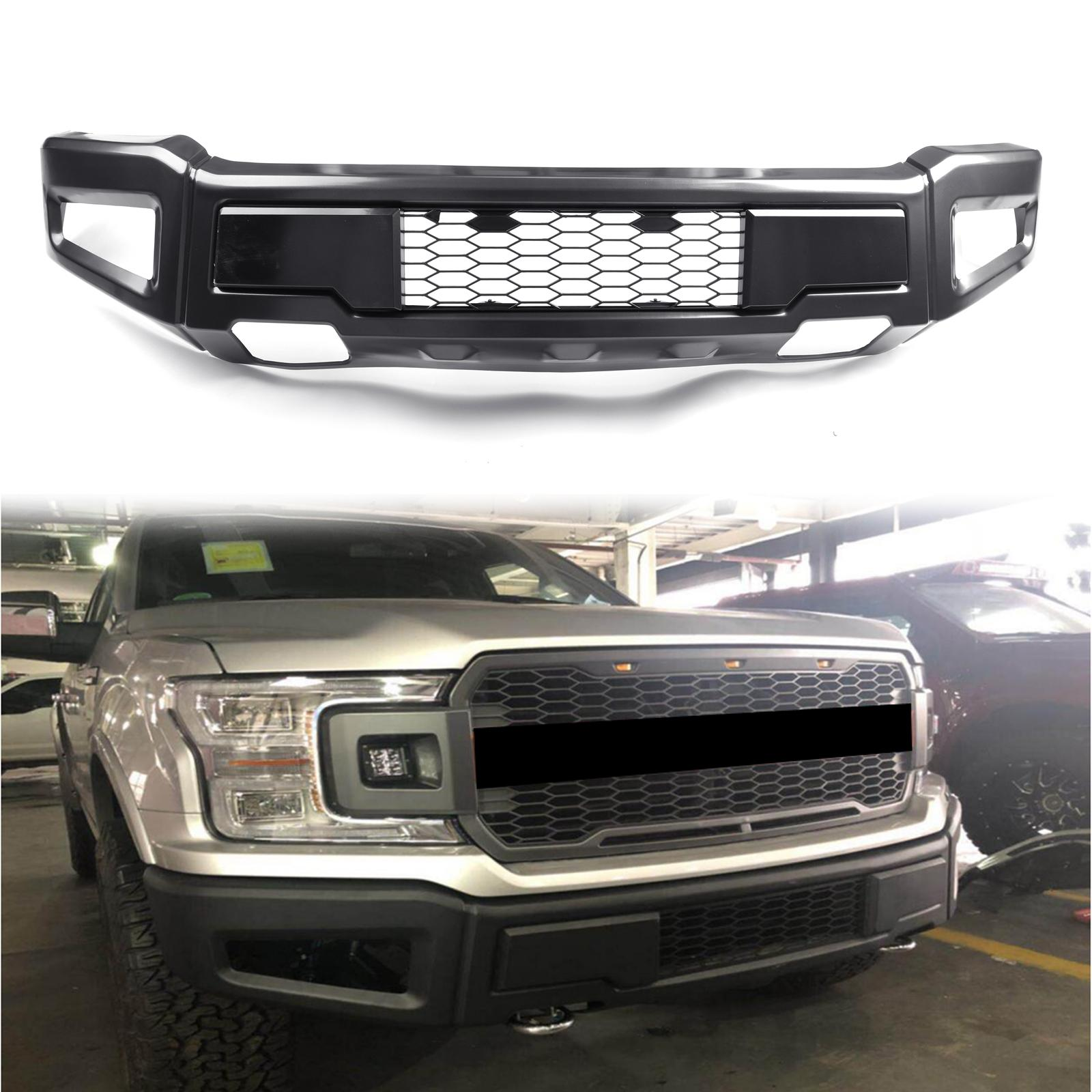 2020 Areyourshop Raptor Style Front Bumper Assembly Kit For Ford F 150 2018 2019 Front Bumper