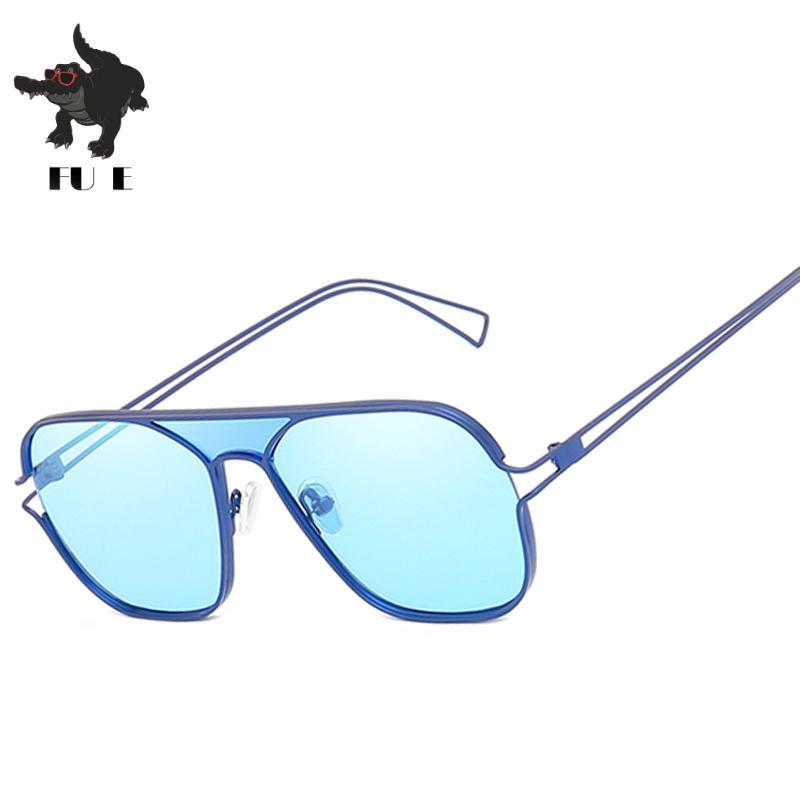 En gros Nouveau 2019 lunettes de soleil argent miroir en métal lunettes de soleil marque designer lunettes de soleil pilotes femmes hommes nuances top fashion eyewear