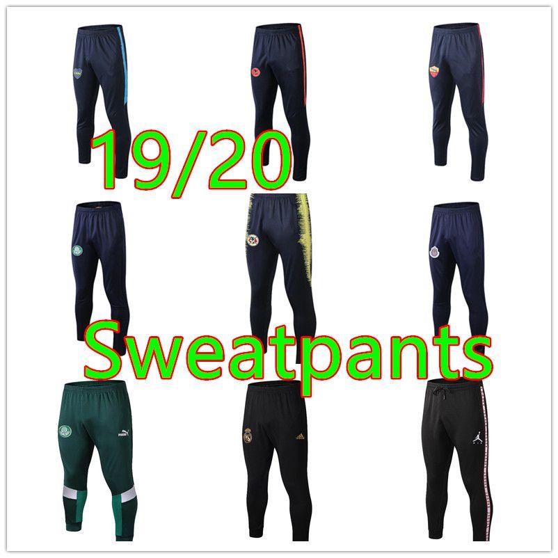 calças de treinamento New messi futebol 18 19 20 calças de futebol corrida Mbappé Pogba 18 19 20RONALDO calças de treinamento de futebol para adultos