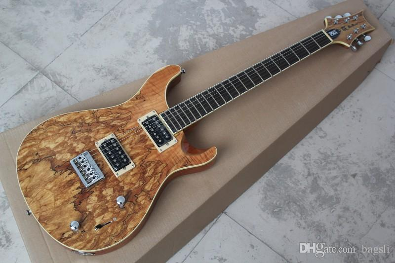 Free shipping 2019 Top Quality SE PAUL ALLENDER Top Body Burlywood Electric Guitar