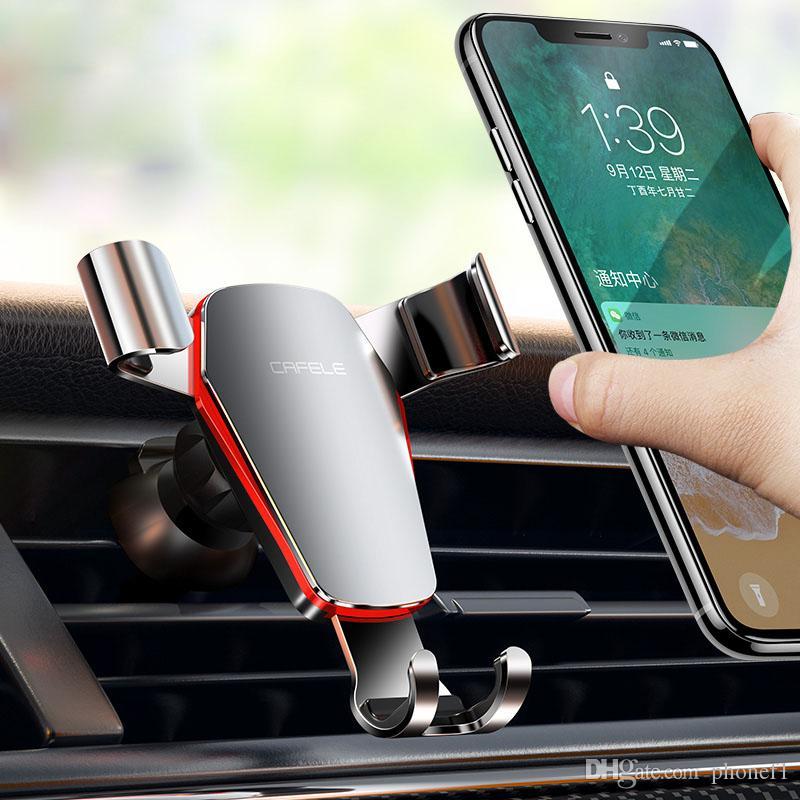 Auto-Telefon-Halterung Halter 360 Grad justierbarer Luftaustritt Handy-Halterung 4,7-6,5 Zoll