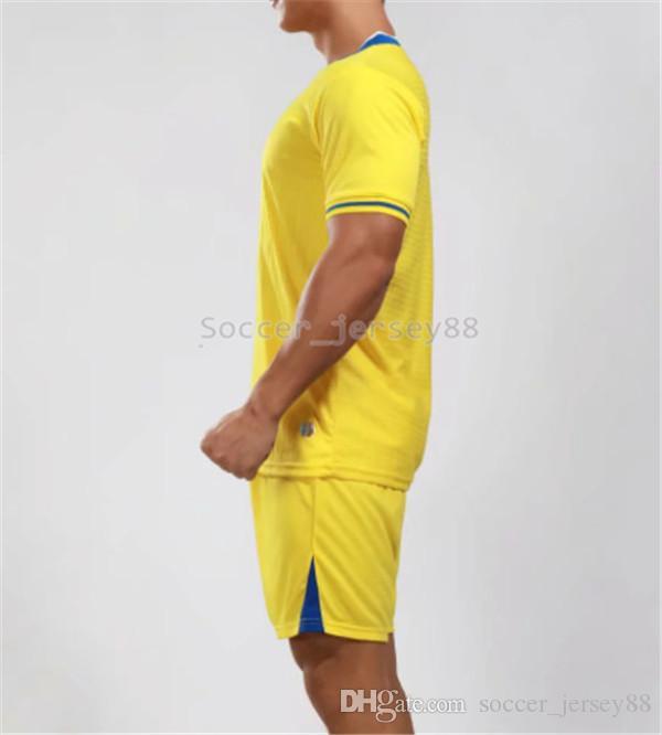 Nuevo llega el fútbol blanco Jersey # 1905-34 Personalizar camisetas de la venta caliente superior de secado rápido Calidad camiseta uniformes Jersey