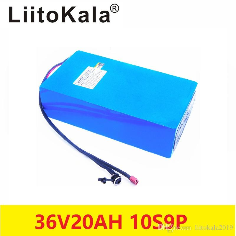 2019 18650LiitoKala Hot sale 36V Lithium battery 36V 20AH Electric Bike battery 36 V 20ah 1000W Scooter Battery with 30A BMS 42V2A charger