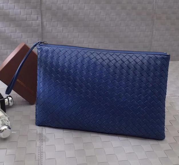 Envío libre 7stars de alta calidad de diseño al por mayor de carteras amante de las mujeres crochet cremallera alrededor de bolso bolsas grandes muñeca caso del documento arriba