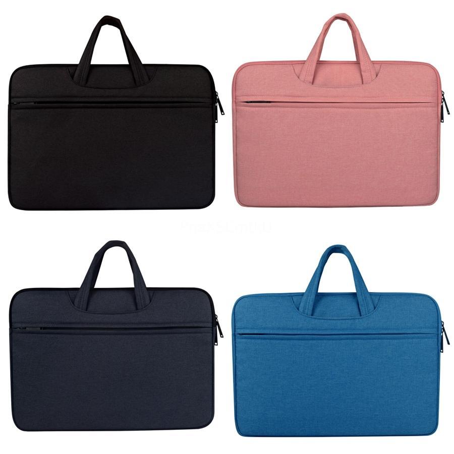 13,3 Laptoptasche Handtasche 13 14 15 15.6 17 17.3 Zoll große Kapazitäts-Notebook Messenger Bag Fall für Macbook Dell Lenveo Acer Asus # 459