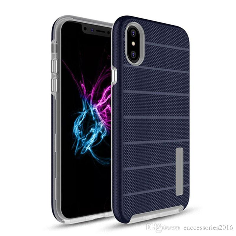 Caseology For Samsung Case Note 10 Pro S10 5G S10e S9 S8 iPhone SE2 11 Max Xs Max Xr iPhone 12 11 Pro 7 Plus 5s Strips Rugged Back Cover