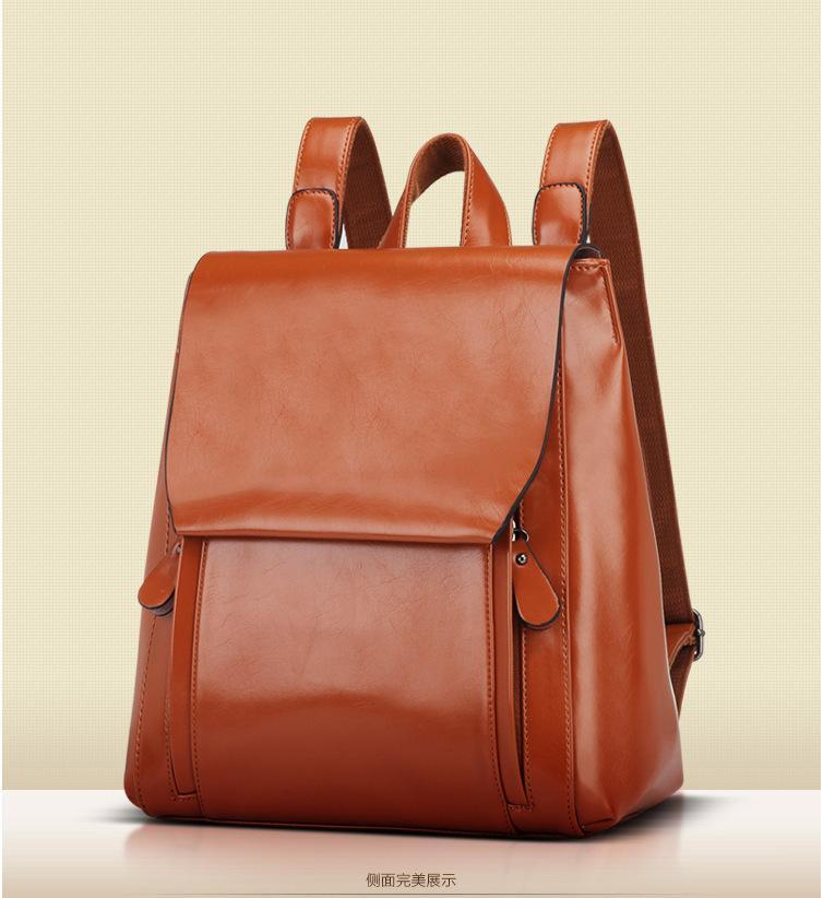 Exotic2019 пакет женщина тенденция мягкая лапша оба плеча сплошной цвет рюкзак мэм сумка