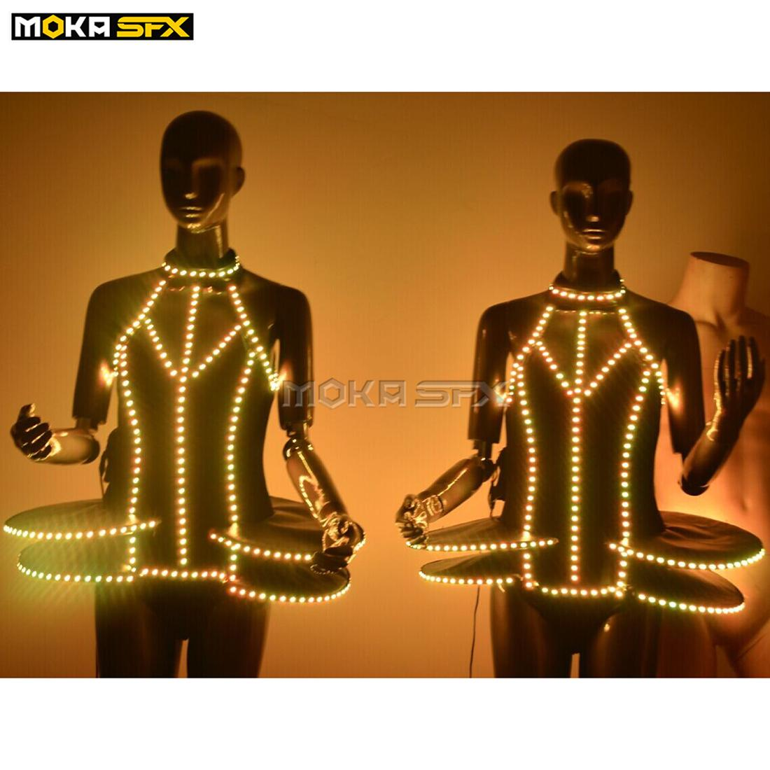 Party Funny Dress Up LED Lights Elements BColorful Party Supplies  Luminous 3PC