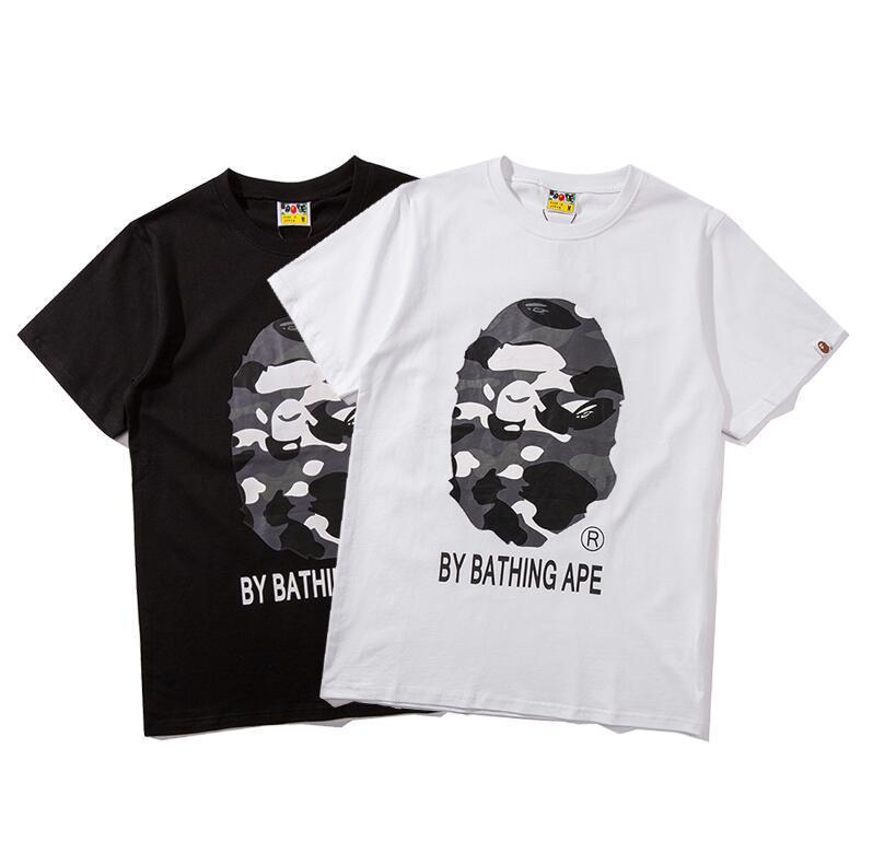 Designers T-shirt 2020 dos homens de Marca de Moda de Nova Hip Hop dos homens T-shirt Casual Carta Bordado Rua Skateboarding Fashion-011
