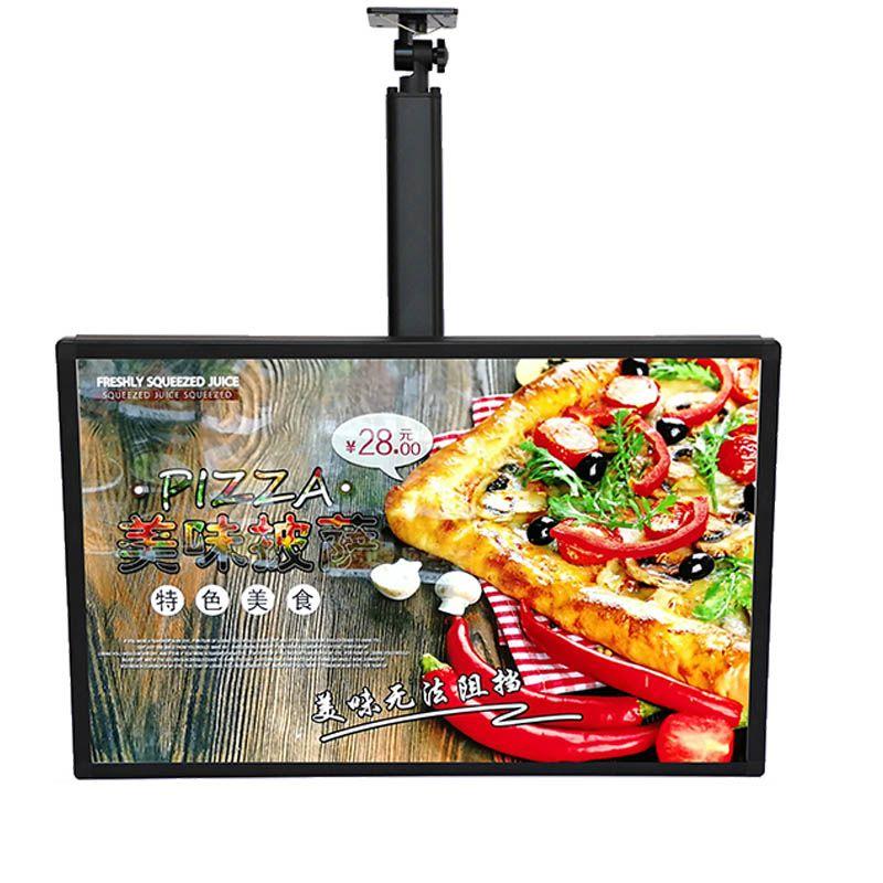 Plafond suspendu Lumineux Affiche de publicité Affiche rétro-éclairé Lightbox Tableaux de menu pour le restaurant Plats à emporter, Boutiques de café