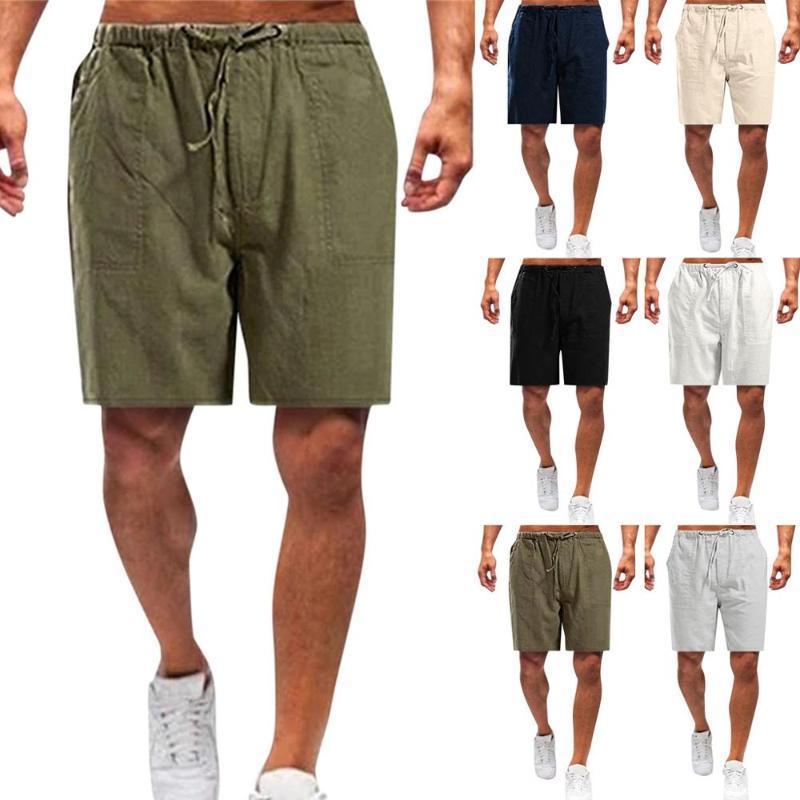 2020 Estate Pantaloncini da corsa uomini più il formato S-5XL Sport Jogging Pantaloncini Fitness Training Gym Mens di sport degli uomini palestra Pantaloni corti