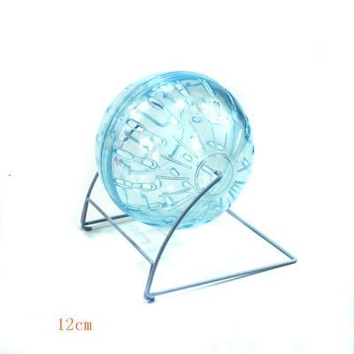 2pcs / lot Exercise Ball Pet Rongeur Souris Jogging plastique Hamster cristal de balle course Rat jeu Toy