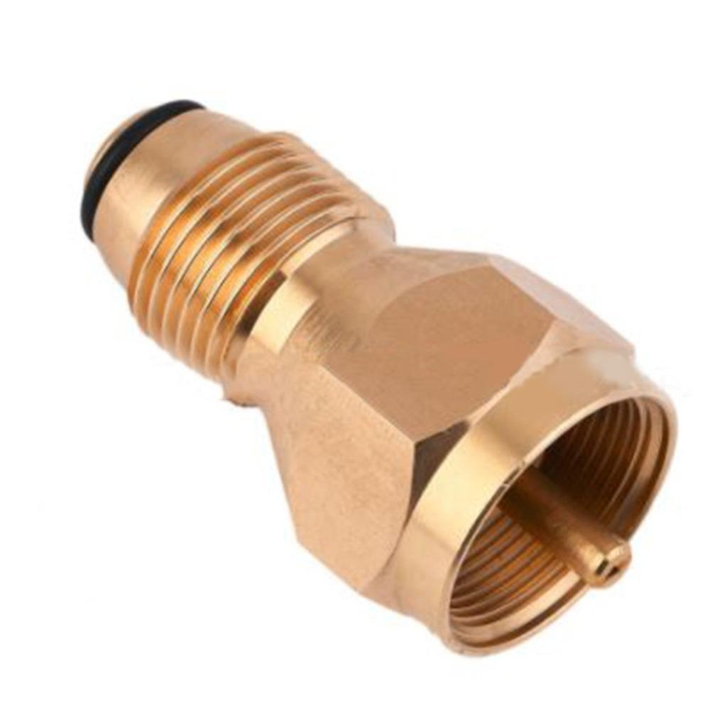 Propano Refill Adaptador de Gás LP 1 Garrafas Lb Cilindro tanque acoplador Aquecedor Seguro propano Legal Garrafa Refill Alternativa.
