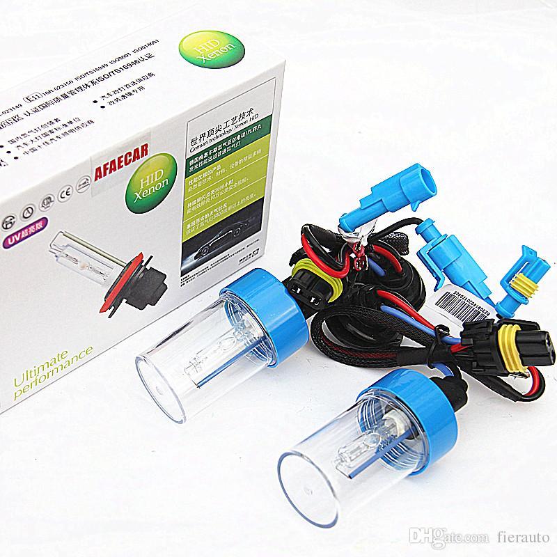 55W AC h1 h3 h7 h11 9005 9006 xenon bulb hid xenon lamp car headlight super quality bright fast start 4300K 6000K 8000K
