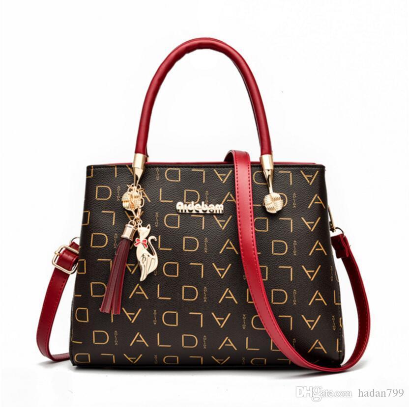 das senhoras do desenhador clássico Bolsas Bolsas Ombro Totes Mulheres Bolsas Bandoleira bolsas Lady PU de couro de compras Mensageiro Clutch Bags