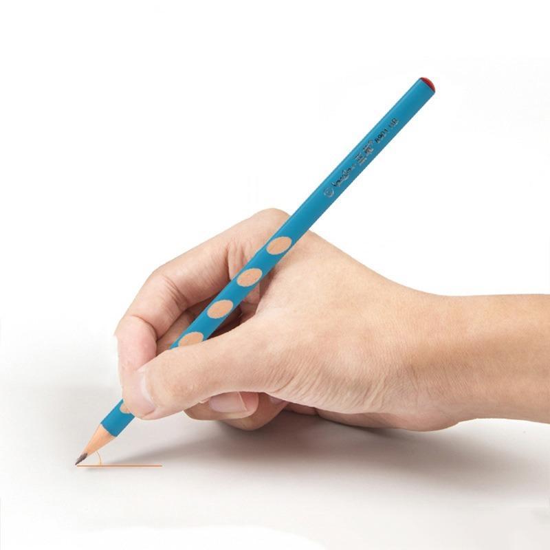 2020 12pzas HB Kawaii lápices de madera creativo del lápiz del agujero para los regalos de Niños de oficina de escuela novedad de herramientas de corrección