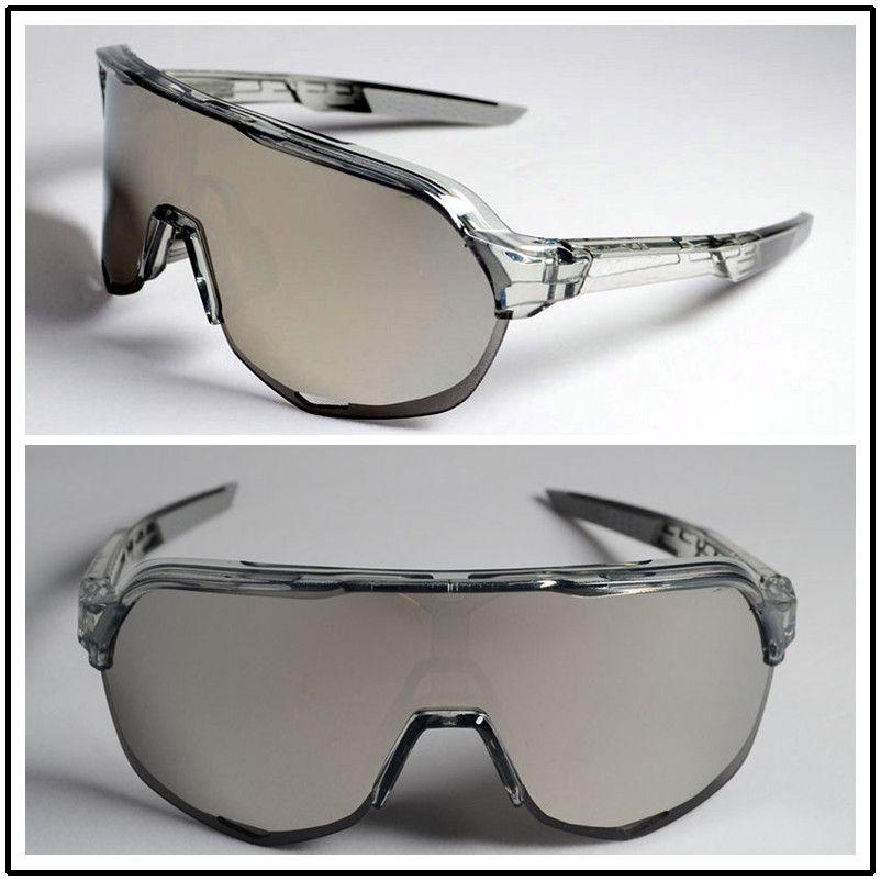 2020 ركوب الدراجات نظارات الرجال النساء الدراجة رياضة ركوب الدراجات نظارات 3PCS عدسة ركوب الدراجات النظارات الشمسية العلامة التجارية TOP الأسود الاستقطاب حزمة كاملة مع مربع