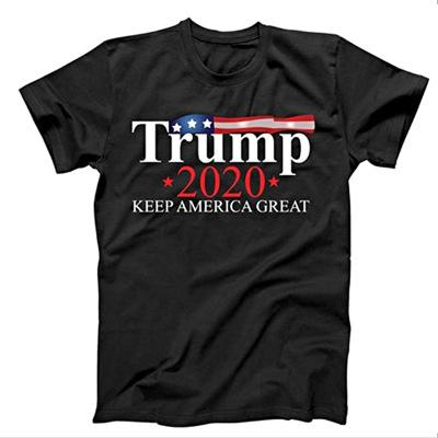 2020Trump Printed T Shirt Trump2020 Tshirt Keep America Great Euro Size XS-XXXXL Provide Customized Printed Hip Hop 20022502X