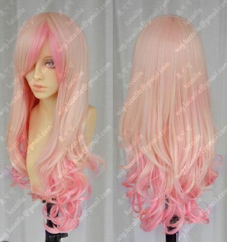 Free shipping Harajuku sea baby fashion gradual change cos long wig
