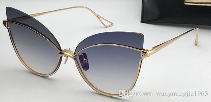 hombre del pájaro de Nueva alta calidad gafas de sol Gafas de sol hombre mujer gafas de sol estilo de moda protege los ojos Gafas de sol Gafas de sol con la caja