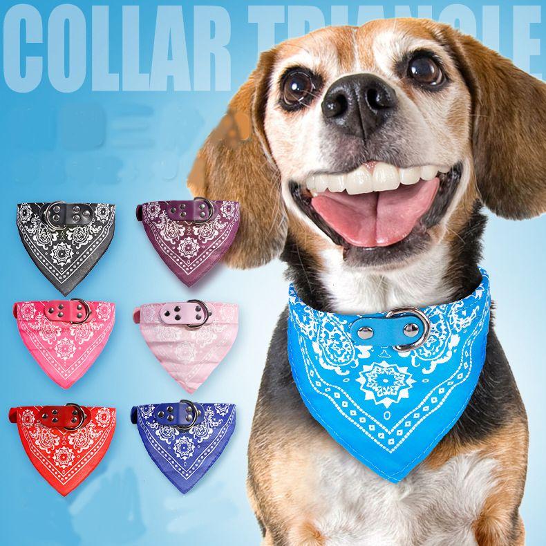 Cat coleira de cachorro bib pequeno cão coleiras Teddy pet fornecimentos cão cachecol jóias triângulo decorativos triângulo bonito