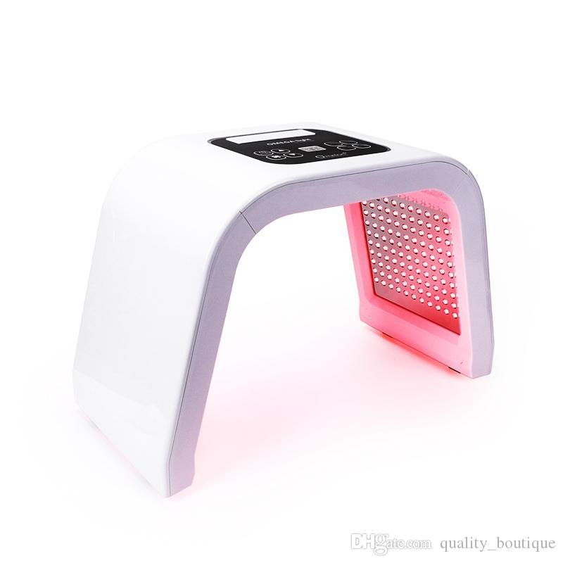 Vücut Yüz Cilt Gençleştirme için 7 Renkli Yüz Maskesi Gençleştirme Omega Işık Foton Terapi Makinesi Akne Çil Çıkarma Salon Güzellik