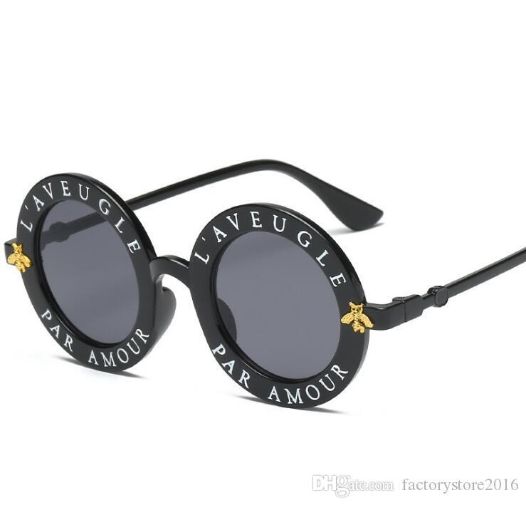 Les nouvelles lunettes de soleil de luxe pour femmes de design de haute qualité des femmes rondes lunettes de soleil Lunettes de soleil mujer lunette
