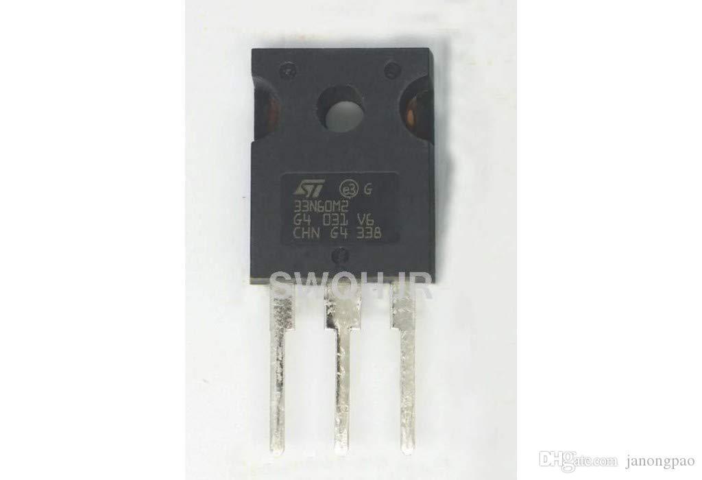Transistor de efeito de campo do semicondutor do óxido de metal STW33N60M2
