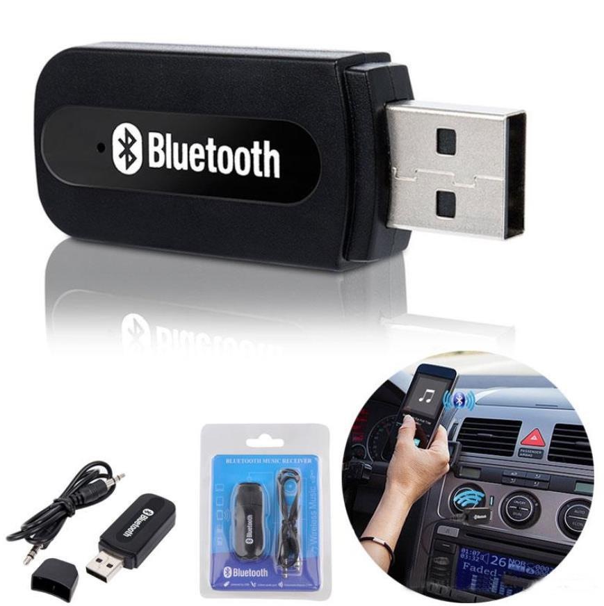 3.5mm Wireless USB Mini Bluetooth Aux Stereo Audio Music Car Adapter Receiver A+