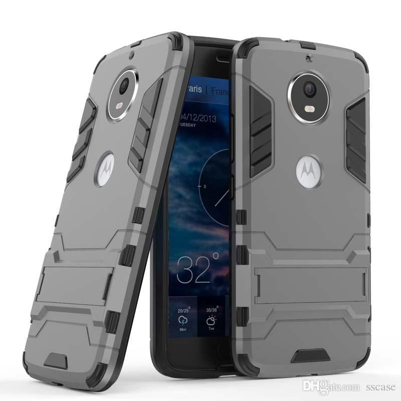 For Motorola Moto E5 E4 EU G6 Play US X4 Case Mobile phone Cover Slim Armor Case Hybrid Combo Cover Luxury 2 in 1 Anti Shock Iron man