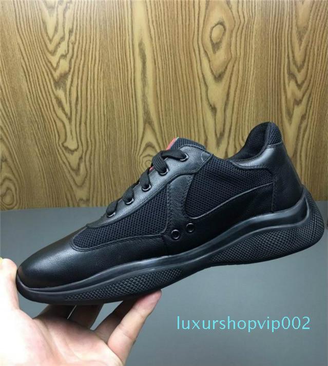 kutu Yeni Erkek Kırmızı Casual Konfor Ayakkabı İngiliz Tasarımcı Mesh Nefes Ayakkabı Zapatos ile 2020 Man Boş Ayakkabı Parlak Rugan ile