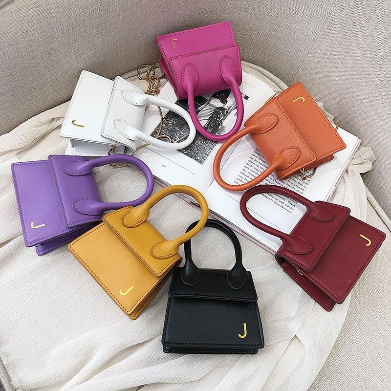 Nuovo disegno di modo colore dell'arcobaleno delle donne spalla borse borsa minuscola piazza signore Messaggeri traversa della borsa corpo B559