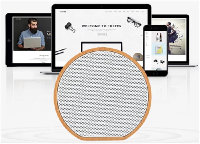 A60 بلوتوث لاسلكي هدية الحبوب حلقة اللغة الخشبية الجديدة المخصصة بطاقة مصغرة المحمولة الكمبيوتر الرجعية اللغة الصغيرة