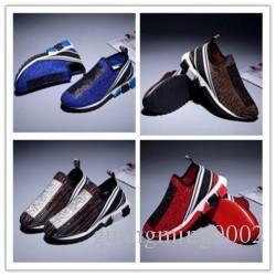 High-TOP-Marken-Entwerfer-Turnschuh-Freizeitschuh Low Top Turnschuhe aus Leder TOP-Qualität Schuhwandern Sport-Trainer für Unisex von Schuhe K091