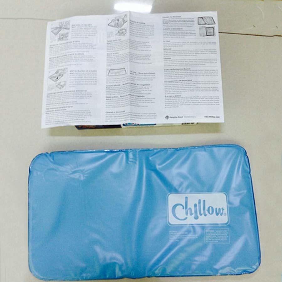 Оптовая Muscle Relief Summer Ice Pad Массажер Therapy Sleeping Aid Вставка Подушки Мат Cooling Gel Подушка с коробкой цвета DH0952 T03