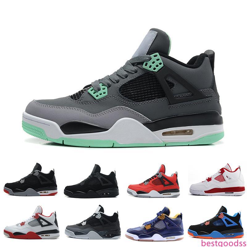 Wholesale Men Shoes 4-5-6-7-8-11-12-13 Basketball Mens Cheap 4s Boots Authentic Online For Sale Sneakers Men Sport US 8-13