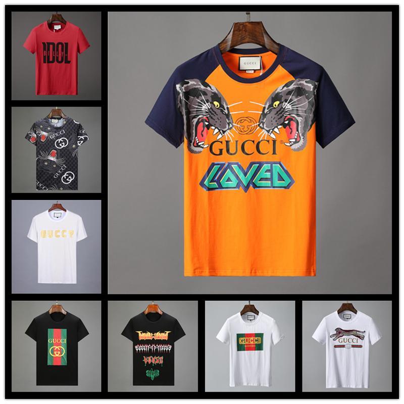 Itália verão designer de t-shirt dos homens tops carta bordado T-shirt marca de roupas masculinas de manga curta T-shirt das mulheres