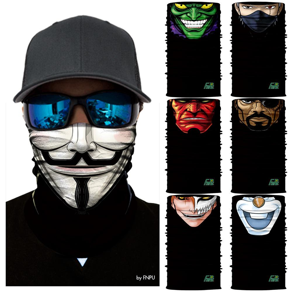 antibactérien P.A.C Bandana Bandeau Foulard multifonction foulards Protection UV