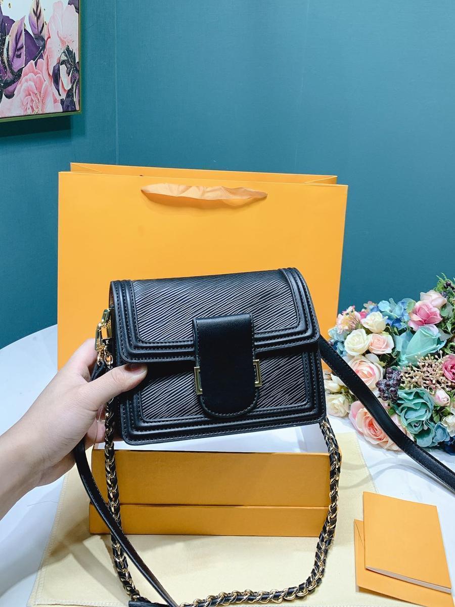 Designer de luxe Femmes Sacs à bandoulière Sacs à bandoulière sac à main en cuir véritable de haute qualité de l'épaule partie détachable de sport Casual
