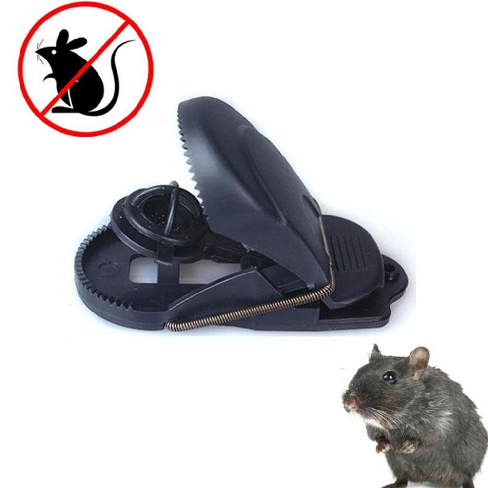 Supplies 4 pezzi di plastica dei mouse trap Trappola Trappola per topi Catcher Killer Pest Control riutilizzabile Altro Giardino