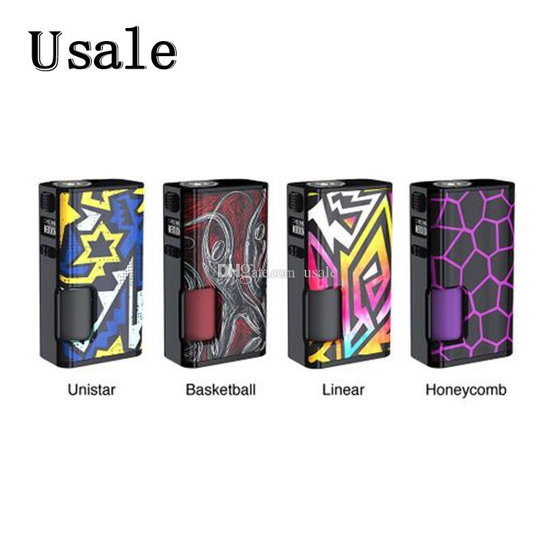 Wismec Luxotic Поверхность 80 Вт Squonk TC MOD с 6,5 мл Бутылка Squonk 0,49-дюймовый OLED-экран для Wismec Kestrel Атомайзер 100% Оригинал