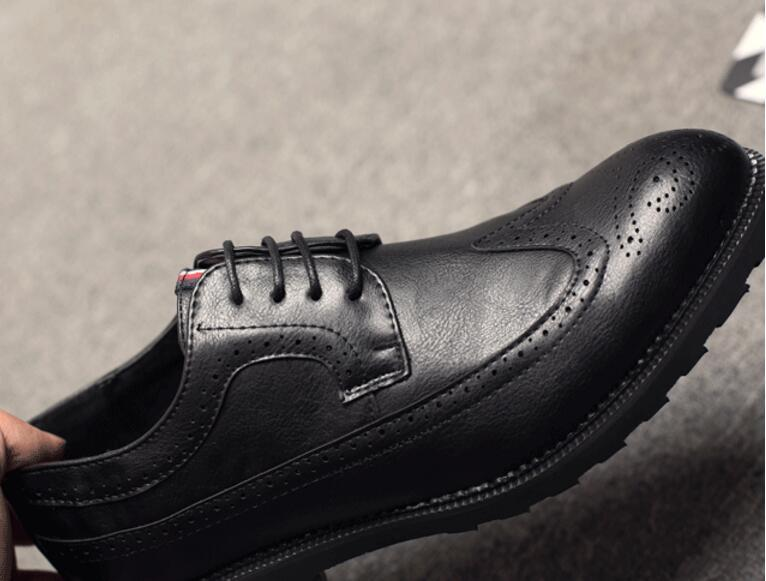 2020 новые мужские кожаные туфли Zapatos De Hombre размер черный кожаный мягкий платье обувь человек плоский классический Оксфорд человек