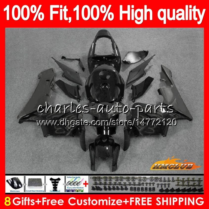 100%Fit Injection For HONDA CBR 600RR 600F5 CBR 600 RR F5 05 06 80HC.51 CBR600F5 CBR600 RR CBR600RR grey flames 2005 2006 05 06 OEM Fairing
