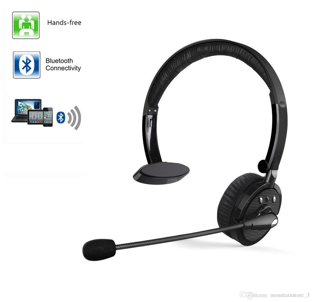 For Truck Driver Noise Cancelling Wireless Headphones Boom Mic Bluetooth Headset For Iphone Samsung Ps3 Android Mac Windows Retail Cell Phone Headsets Best Cell Phone Headset From Mountainstore 3 15 96 Dhgate Com