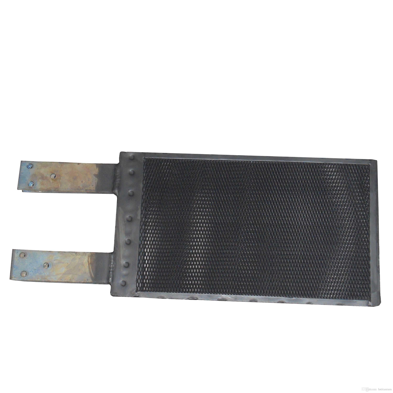 Treillis d'anode en titane recouvert de MMO utilisé dans la désinfection de l'eau pour piscine Treillis d'anode en titane MMO pour le traitement des eaux usées