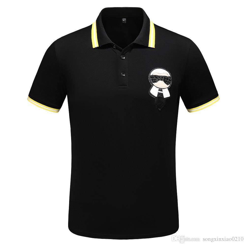 2019 t-shirt männer männlich kurzarm stickerei druck t-shirts herren casual herren slim t-shirt slim t mit tags hohe qualität m-3xl