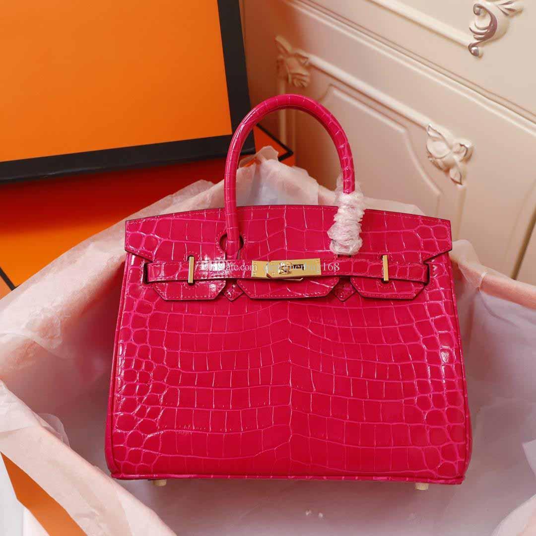 mode classique sacs à main femme design de luxe Crocodile brillant embrayage sacs à bandoulière de haute qualité sac en cuir véritable peau de vache sacs fourre-tout sac à main