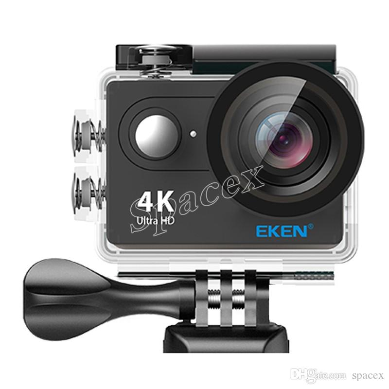 Hot Selling EKEN H9R with Remote Control 4K Ultra HD WiFi HDMI 1080P 2-inch LCD 170 Wide Angle Lens EIS Sports camera waterproof